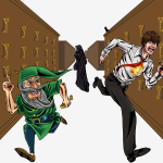 Ekaf, Joe, and Death in the Key Library. By Chris Smith. (V2)